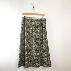 Sag Harbor Floral A Line Skirt Womens Sz 12P